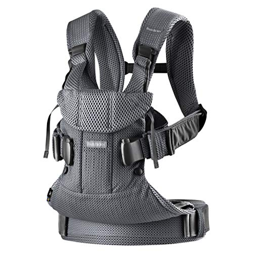 BABYBJÖRN Baby Carrier One Air, 3D Mesh, Anthracite, 2018 Edition from Baby Bjorn