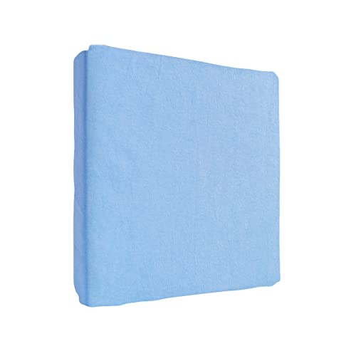 Jersey 100% Cotton Fitted Sheet Suits Junior Cot Bed 160x70 cm - BLUE from Baby Comfort