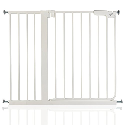 BabyDan Extra Tall Pressure Baby and Pet Gate Black All Widths 92.5cm - 99.5cm