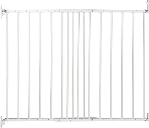 BabyDan Multidan Extending Metal Safety Gate, White from BabyDan