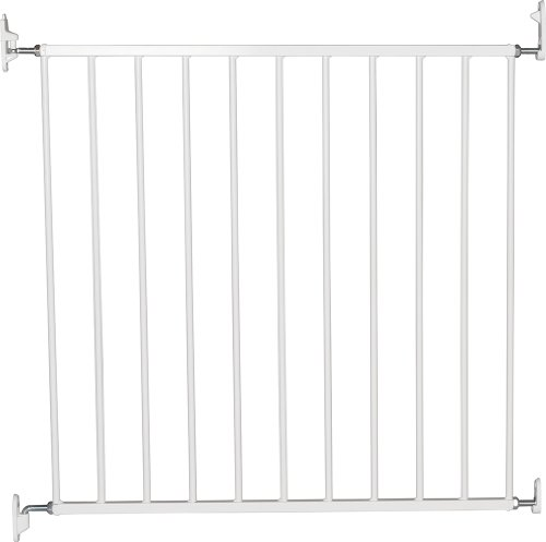 BabyDan No Trip Screw Mounted Safety Gate, White from BabyDan