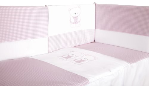 Quilt Crib Bebe 120 x 60 + Screen Cradle, Removable for Winter/Summer from Babyline