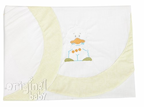 Sheets for Car/Carrycot/Cuckoo – Measure Standard 40 x 80 (Savannah Fitted Sheet + Pillowcase + Hob) from Babyline