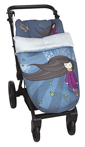 Winter Baby Chair Cart Car with Fleece Footmuff Universal from Babyline