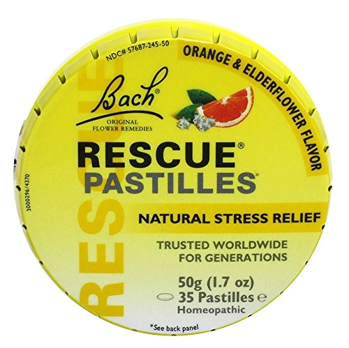 Nelson Bach USA - Rescue Remedy Pastille, 30 tablets from Nelson