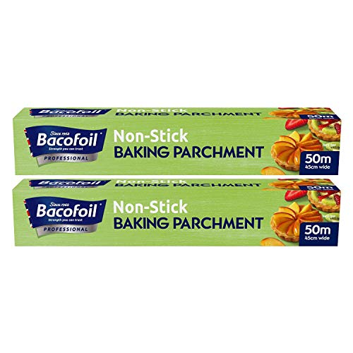 Bacofoil 450mm x 50m Non Stick Baking Paper, 2 Pack from BacoFoil