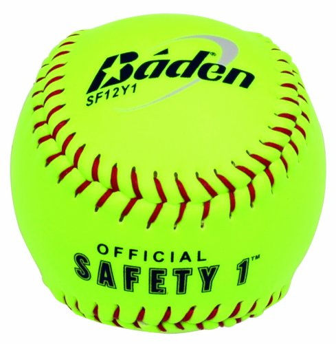 "Baden Safety Softball - High Visibility Yellow, 12"" from Baden"