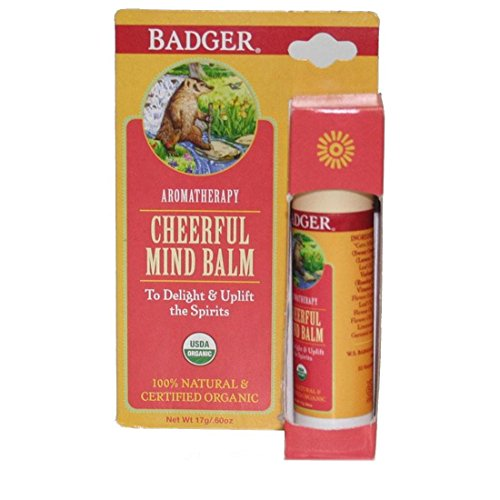 Badger Balm Cheerful Mind Balm Stick 17g/.60oz from Badger