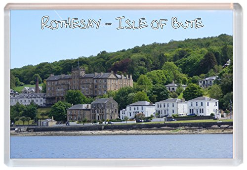 Rothesay - Isle of Bute - Scotland - Jumbo Fridge Magnet Gift/Souvenir/Present from Baked Bean Store