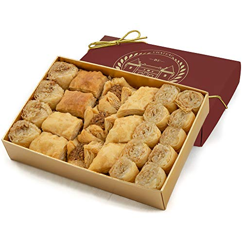 Baklava | Bite size | Baked to Order | 19 Pieces | Château de Mediterranean | Gift from Chateau de Mediterranean