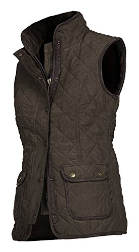 Baleno Women's Scarlet Gilet, Chocolate, Small/Size 10 from Baleno
