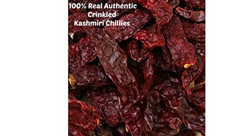 1kg | 100% Guaranteed Authentic Crinkled Pure Whole Dried Kashmiri Chillies **Free UK Post** Whole Kashmiri Chilli Dry Chilly Kashmiri Chilli Dried Whole Mirch from Balsara's