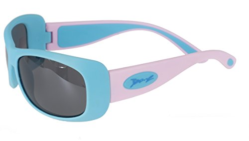 BanZ Sunglasses for Juniors (6 to 10 Years, Aqua/Pink Flexerz) from Banz