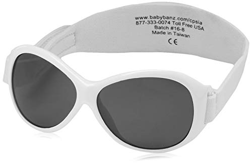 BanZ UV Protection Sunglasses (Baby White) from Banz