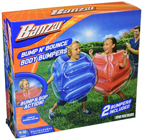 Bump n Bounce Body Bumpers - 2 bumpers included - Age 4 to 12 years from BANZAI