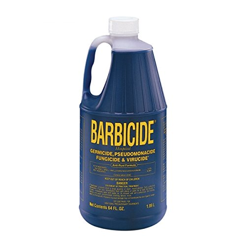 BARBICIDE HAIR DRESSER SALON STYLIST CONCENTRATE SOLUTION - 1.89L / 1890ml from Barbicide