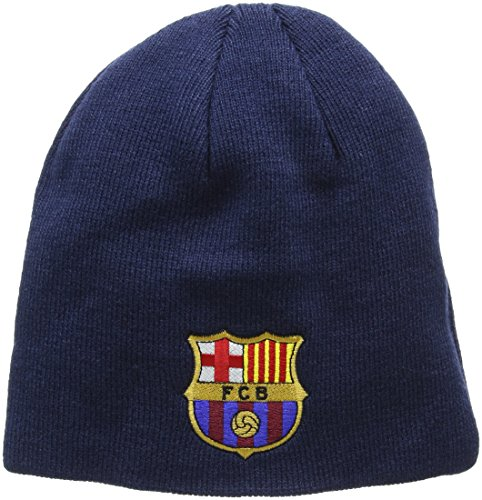 Barcelona Core Beanie Hat - Navy from Barcelona F.C.