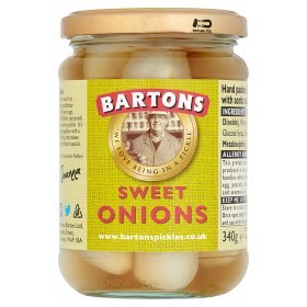 Bartons Sweet Pickled Onions - 650g Jar from Bartons