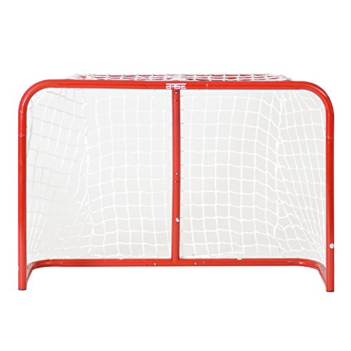 Base Streethockey 74621 Hockey Goals 32 Inches Including Sticks and Ball Red from Base London