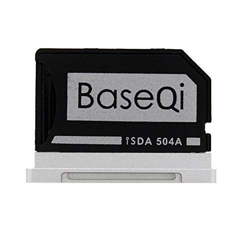 "BASEQI aluminum microSD Adapter for MacBook Pro 15"" Retina (Late 2013 onwards) from BaseQi"