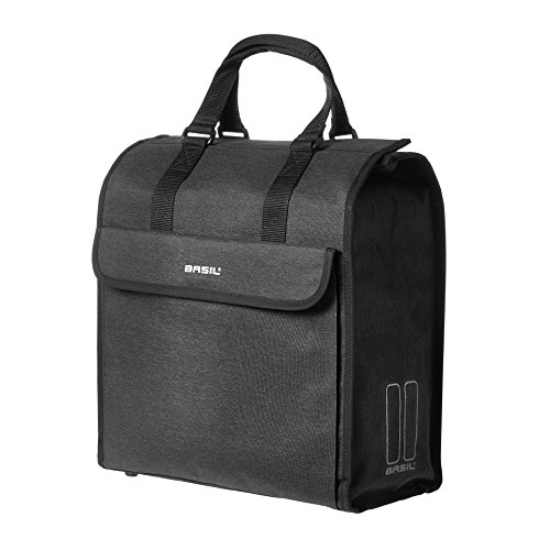 Basil Unisex's Mira Shopper Bag, Black, 17 Litre from Basil