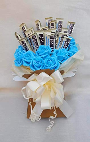 Chocolate Bouquet Hershey Bars Bouquet - Sweet Gift Hamper from Baskets Hampers and More