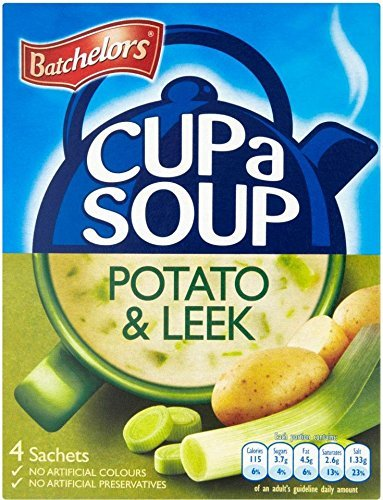 Batchelors Cup a Soup Creamy Leek & Potato (4 per pack - 107g) - Pack of 6 from Batchelors