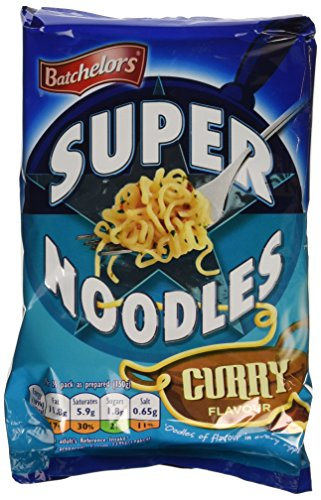 Batchelors Super Noodles Mild Curry Flavour 100 g (Pack of 16) from Batchelors