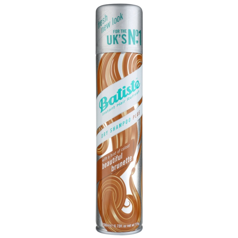 Batiste Hint of Colour Dry Shampoo For Brown Hair Shades 200 ml from Batiste
