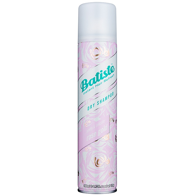 Batiste Rose Gold Refreshing, Oil-Absorbing Dry Shampoo 200 ml from Batiste