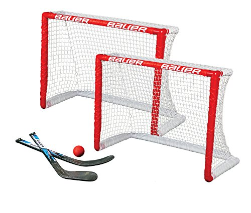 Bauer Knee Hockey Goal Set (Twin Pack), Red from Bauer