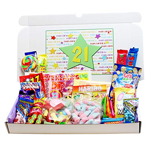 21st Birthday Sweets Gift Box from Bay Sweets