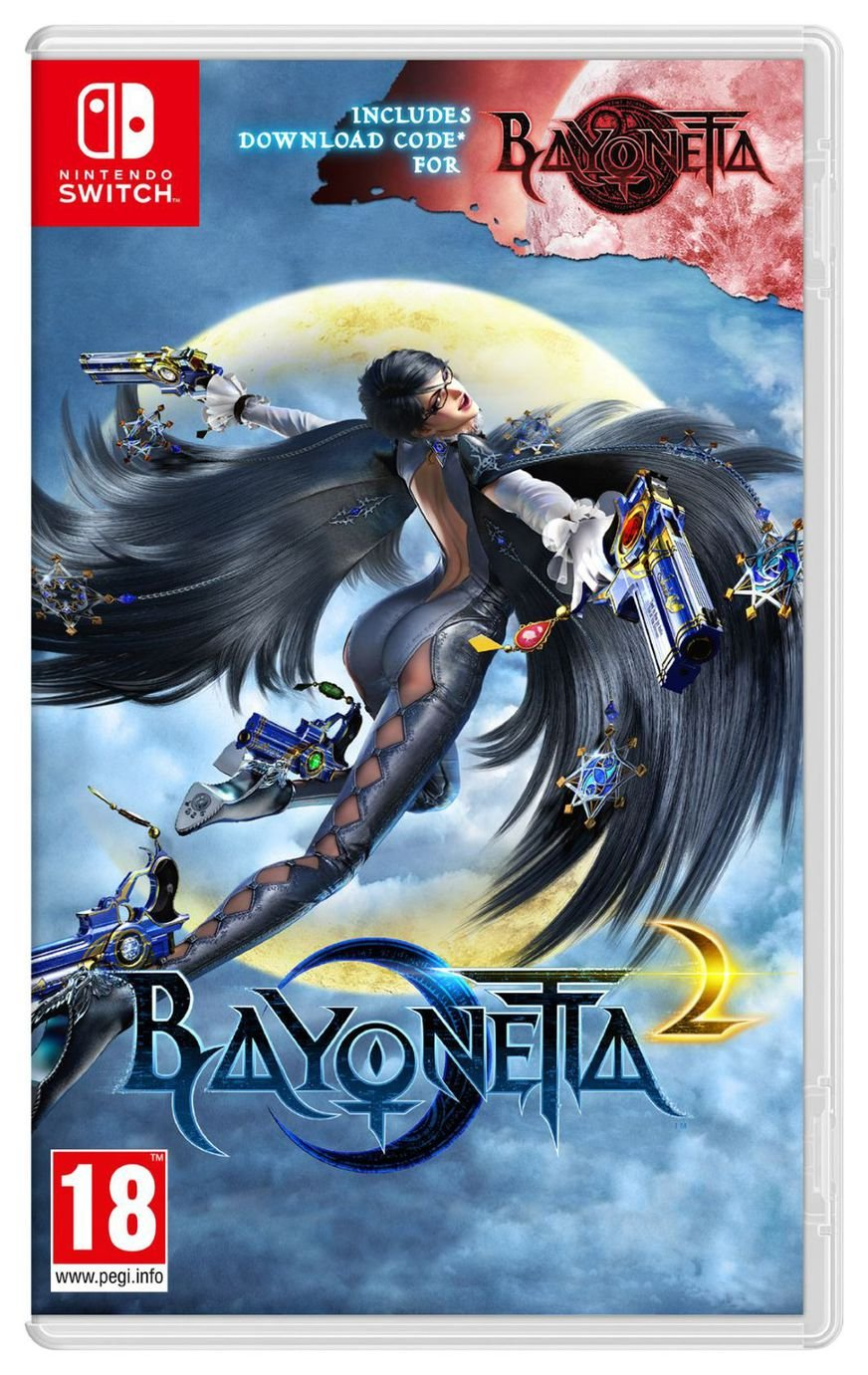 Bayonetta 2 with Bayonetta DDC Nintendo Switch Game from Bayonetta