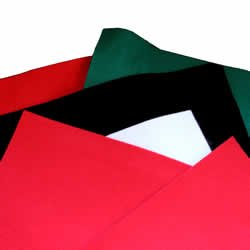 Christmas A4 Pack Felt - Red, Green, Black & White from Be Creative