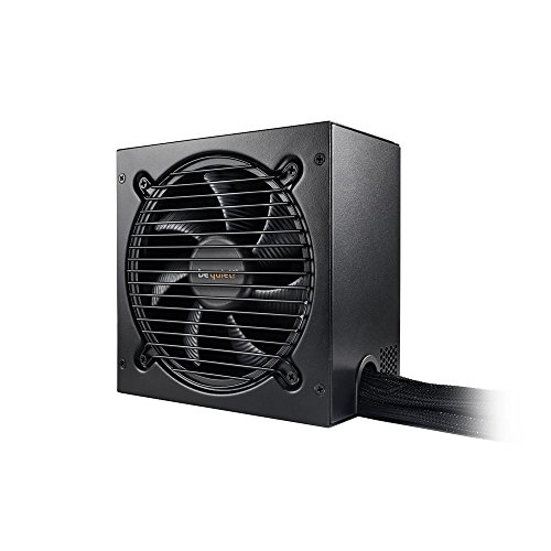 BEQUIET BN295 700 W Fully Wired Rifle Bearing Fan Pure 11 Power Supply Unit - Black from Be Quiet