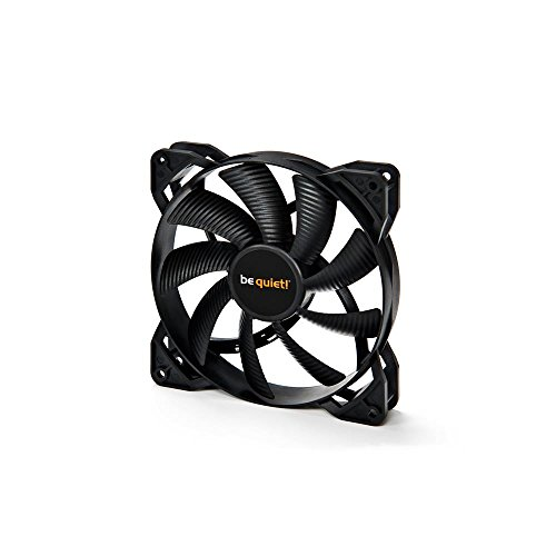BeQuiet! 120MM Fan Pure Wings 2 PWM, Rifle Bearing, Black, Silent Cooling, 20.2 dB, Recommended For Use In Water Cooling And Air Cooling, Nine Silence-Optimised Fan Blades With High Air Flow from Be Quiet