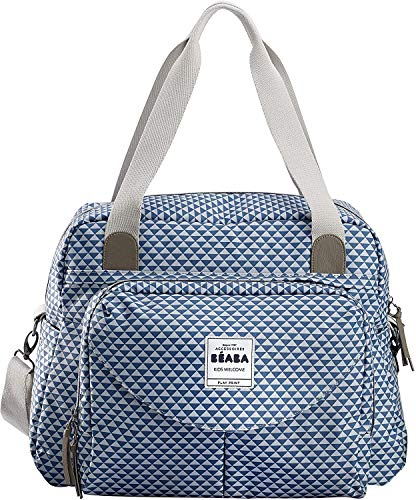 BEABA Geneva ll Play Print Changing Bag (Blue) from Béaba