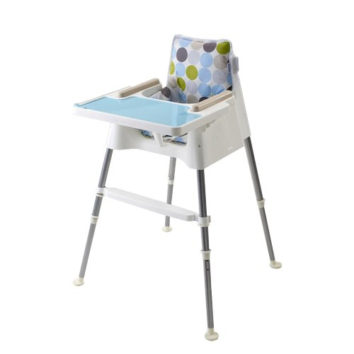 "Beaba Highchair ""cube"" white/turquoise from Beaba"