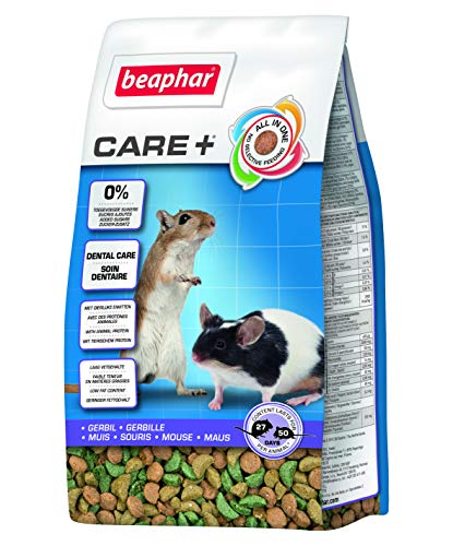 Gerbil Food Beaphar Care+ Plus 250g from Beaphar