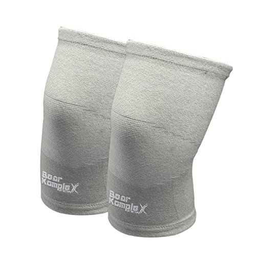 d712a04c37 Bear KompleX Knee Compression Sleeves : LITE Knee Support for Men & Women -  Breathable Athletic