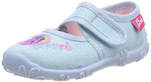 Beck Girls' Darling Low-Top Slippers, Blue (Hellblau 04), 8.5 UK Child 9 from Beck