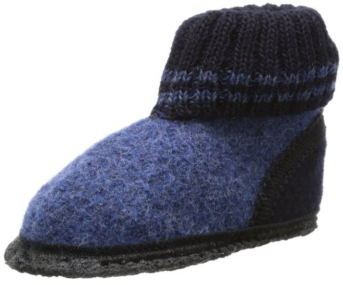 Beck Unisex Kids' Oetzi Slippers, Blue (Blau), 7 UK from Beck