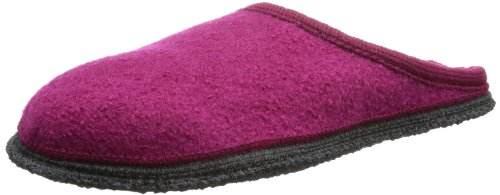 Beck Women's Home Slippers, Purple Bordeaux, 7 UK from Beck