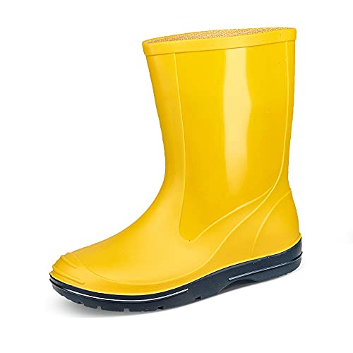 Beck Unisex Adult's Basic Wellington Boots, Yellow (Gelb 10), 5 UK (22 EU) from Beck