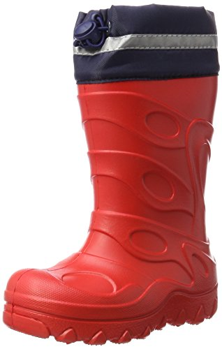 Beck Unisex Basic Snow Boot, Red 07, 1.5/2 UK from Beck
