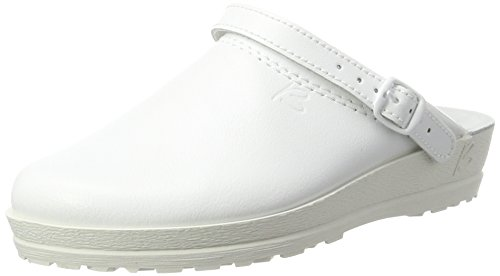 Beck Women's Anna Clogs, White (Weiß 04), 5 UK from Beck