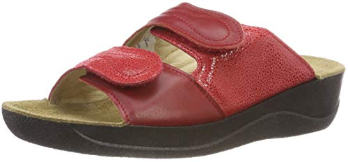 Beck Women's Valerie Mules, Red Rot 07, 4 UK from Beck