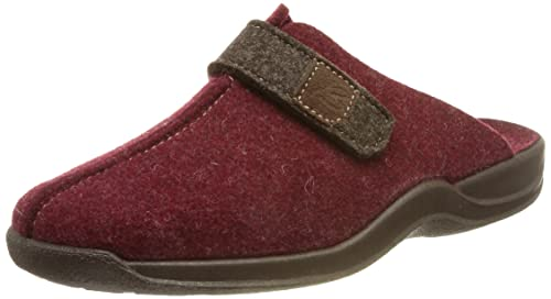 Beck Women's Vera Open Back Slippers, Red (Bordeaux 29), 5.5-6 UK 5.5 from Beck