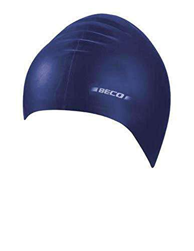 Beco Latex Cap Swimming Cap, Unisex, 7344, navy, One Size from Beco