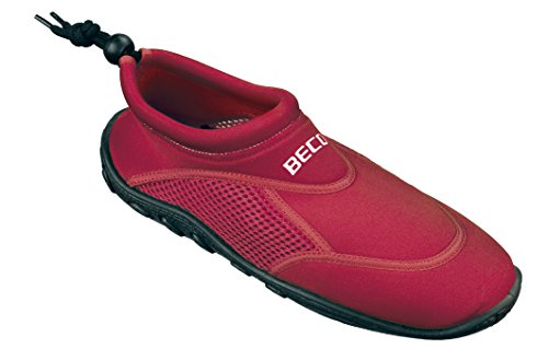 Beco Unisex's Bathing Tideland Beach Aqua Surfing Shoes, Red, Size 40 from Beco